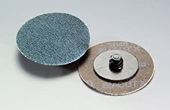 50mm 'Roloc' type quick change discs for sanding and surface blending. (Medium surface blending) Abtec