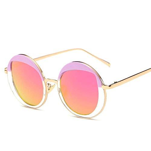 de personnalité Classique Lunettes Ultra Soleil UV Lunettes Femmes une Protection à Lunettes de Mode en légères YTTY Soleil métal de 54A75