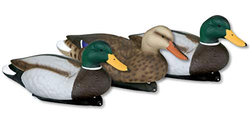 Flambeau Outdoors 5900MSU Masters Series Extreme Mallard Duck Decoys 3-Pack Hunting ()