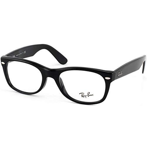 Ray Ban Eyeglasses RX5184 2000 Shiny Black/Demo Lens, ()