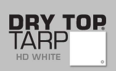 18x24 Multi-Purpose White Heavy Duty DRY TOP Poly Tarp 31824 18x24