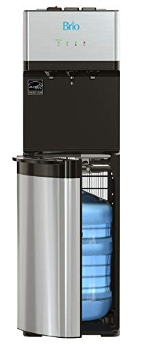 Brio Self Cleaning Bottom Loading Water Cooler Water Dispenser - Limited Edition - 3 Temperature Settings - Hot, Cold & Cool Water - UL/Energy Star Approved