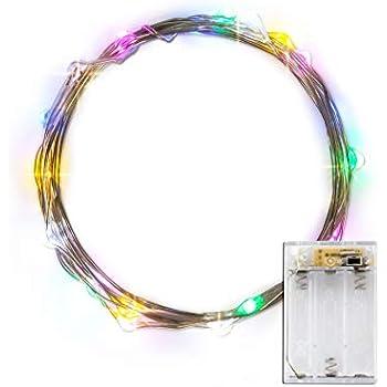 Amazon.com: LIDORE Micro LED 20 Multi color String Lights