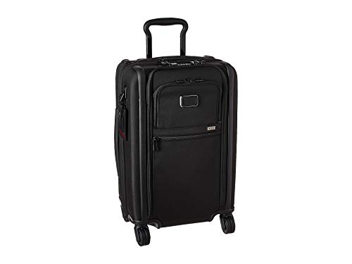 TUMI - Alpha 3 International Dual Access 4 Wheeled Carry-On - 22 Inch Rolling Suitcase for Men and Women - Black