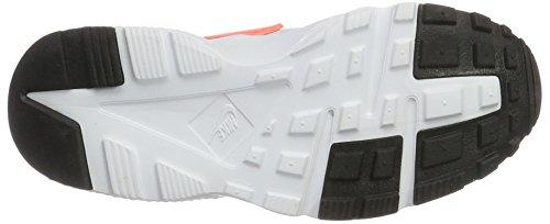 Nike Huarache Run Gs, Sandalias con Plataforma los Niños y Adolescentes, Multicolor (Pure Platinum/Lava Glow-Cool Grey-White), 38.5 EU