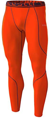 TSLA TM-YUP43-ORG_Medium Men's Emboss Pants Thermal