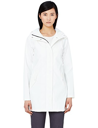 Hood Hood MERAKI Women's Raincoat White Women's MERAKI Raincoat PdwHqw8f