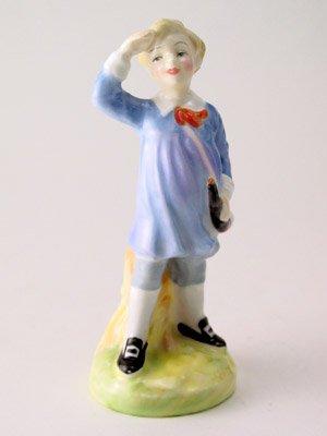 Royal Doulton Porcelain Figurine - Royal Doulton c1950-1973 Little Boy Blue Figurine