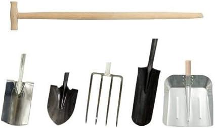 Spatenstiel Spatengabel Stiel Holzstiel T Griff Ø38 mm Gebogen VARIANTE AUSWAHL