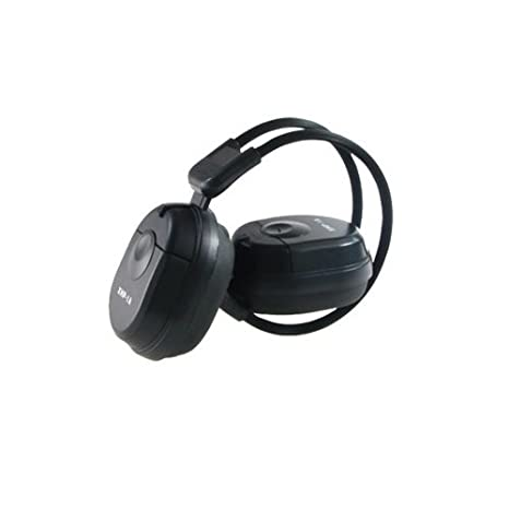 NESA NHP1A 1-CH IR Stereo Wireless Headphone, Black