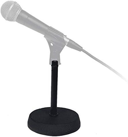 RTX MTDX - Pie de micrófono de mesa: Amazon.es: Instrumentos musicales