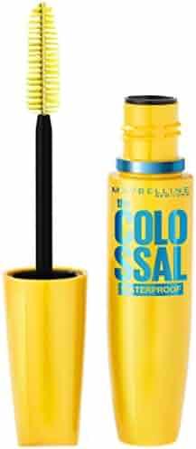 Maybelline Volum' Express The Colossal Waterproof Mascara, Volumizing, Glam Black
