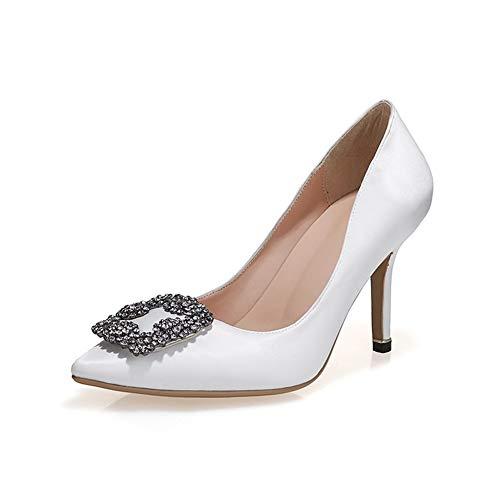 Sandales Aimint Femme 5 Blanc 36 Compensées Blanc ERR00082 5Oa6qWOwH