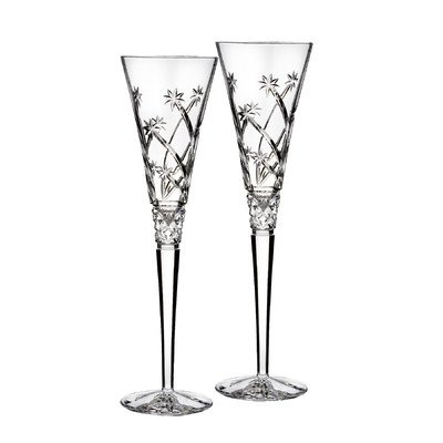 Waterford Wishes ''Believe'' Flute Pair, 5-Ounce by Waterford