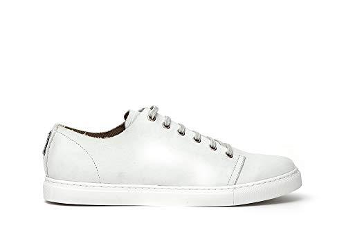 Sneaker Scarpe Nabuk Cafè Ph722 Allacciate Noir 39 Bianco In Uomo wwtFxr4pq