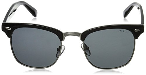 Half Frame Semi-Rimless Horn Rimmed Sunglasses 2 <p>Half frame horn rimmed shape that features a polarized and non polarized lens to reduce glare. Frame is made with an acetate brow and arms, metal wire lens lining and metal nose bridge. Features metal hinges, English style nose pieces, and polarized/non polarized polycarbonate Uv400 protected lenses. Protection Against Harmful UVA/UVB Rays Classic Half Frame Horned Rim Design Reinforced Metal Hinges English Style Nose Pieces</p>