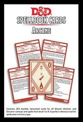 73915 D&D: Spellbook Cards: Arcane Deck