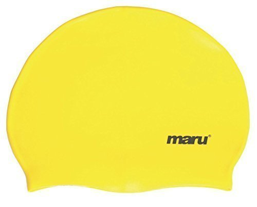 Maru Swimming Costume (Yellow Maru Silicone Swim Cap)