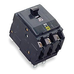Square D Circuit Breaker, 80 Amp, 3-Pole, QO380