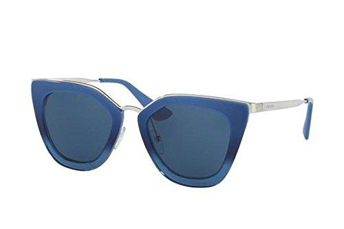 Prada Women's Metal Bridge Mirrored Sunglasses