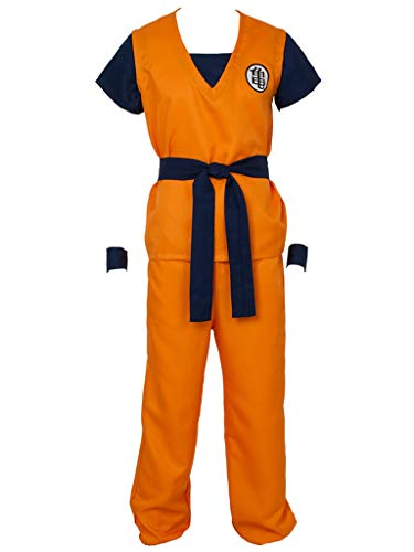 Anime Costume For Men (CosFantasy Unisex Cosplay Son Goku Turtle SenRu Costume mp002565 (Men L(Bust:)