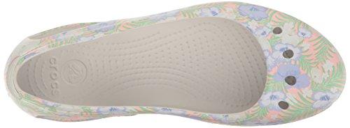 Crocs Damen Kadee Graphic W Flat Hellrosa / Floral