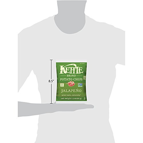 Kettle Brand Potato Chips, Jalapeno, 1.5 oz by KETTLE FOODS (Image #9)