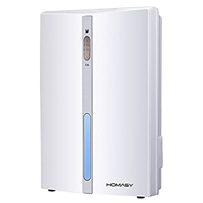Homasy Powerful Small-Size Peltier effect Dehumidifier for Smaller Room,  Cupboard, Basement, Attic, Stored Boat, RV, Antique Car