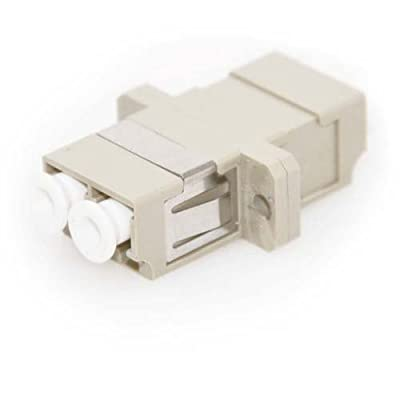 Diablo Cable LC/LC Female to Female Multimode Duplex Fiber Coupler (10 Pack)