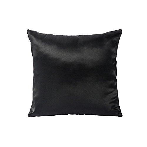 Tim & Tina 100% Pure Mulberry Luxury Silk Satin Pillowcase,Square Decorative Throw Pillow Case Cushion Cover (24