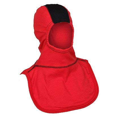 (Majestic PAC II SVZ Hood, 100% Nomex, Red - 100% Nomex, Red)