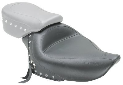Studded Pillion Pad (Mustang Solo Studded Front Seat for 2004-2011 Harley Davidson Sportster)