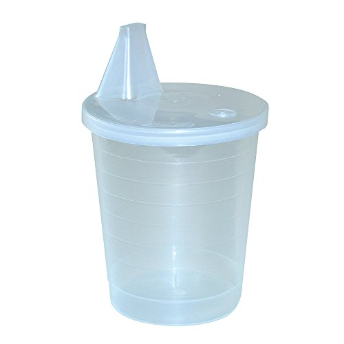Ableware 745640000 Single-Use Disposable Cup Pk/12 (Pack of 12) by Maddak Inc.