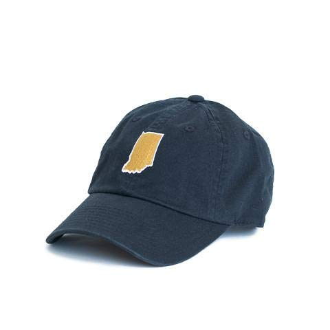 STATE TRADITIONS Indiana Hats (South Bend Navy)