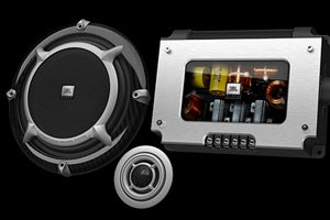 JBL 670GTi 1200 Watt Max 6-1/2'' (165mm) 2-way Reference-Class Competition-Grade Car Component Speaker System