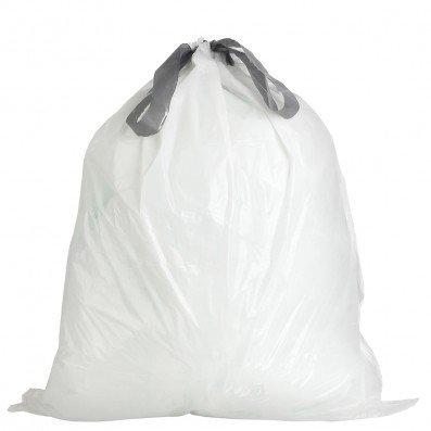 UNNI ASTM D6400 100% Compostable Bags, Drawstring Trash Bags, 4-6 Gallon ()