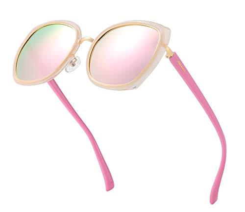Eyewear Fashion Sunglasses - Oversized Sunglasses for Women Polarized Sunglasses Butterfly Fashion Eyewear