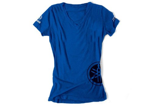 Factory Effex 17-87246 Women's 'YAMAHA' T-Shirt (Royal, X-Large) by Factory Effex