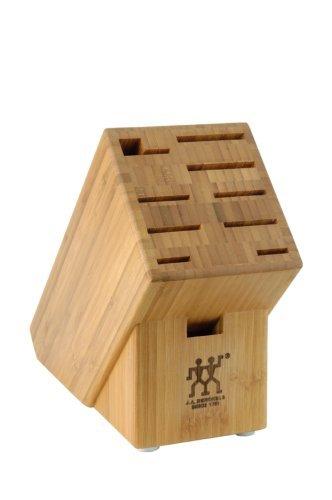 (J.A. Henckels 10-Slot Bamboo Storage Block, Garden, Lawn, Maintenance)