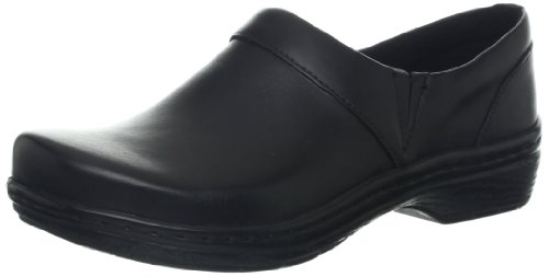 Klogs Mission - Leather Clog - Many Colors Black Smooth