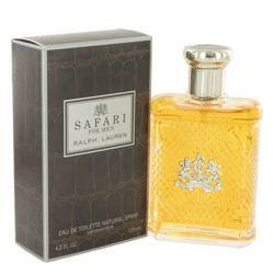 SAFARI by Ralph Lauren EDT SPRAY 4.2 OZ - 90% FULL for MEN