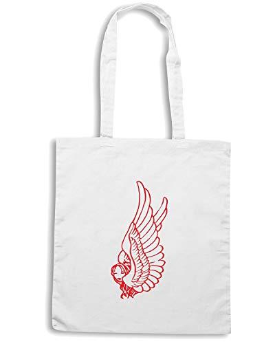 Bianca FUN0588 ANGEL Speed Shirt Borsa Shopper wxq6AtCna