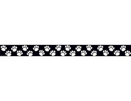 amazon com teacher created resources paw prints straight border