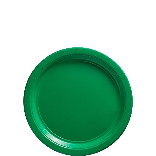 Big Party Pack Festive Green Paper Plates | 7