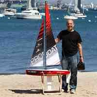 Radio Controlled Sailboat (Pro Boat Ragazza 1 Meter Sailboat V2: RTR RC Boat)