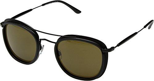 Giorgio Armani  Men's 0AR6054 Matte Black/Brown - Giorgio Glasses Of Life Frames Armani