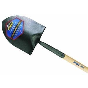 PonyÃ'Â Shovels - size 2 round point-ts pony shovel long by Jackson Professional Tools