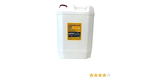 Anticongelante Puro-Concentrado Orgánico. Hasta -88ºC. Envase 30 Litros. Color Verde. Apto para circuitos cerrados/refrigeracion/calefacción.