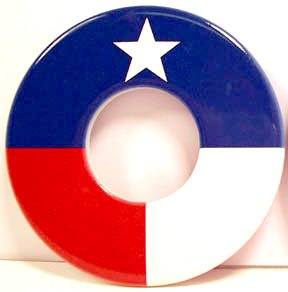 Texas Flag Washers by The Bombat Washer Company