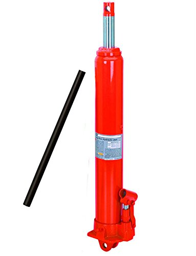 8 Ton Long Ram Manual Hydraulic Jack Cherry Picker piston pump new by Unknown